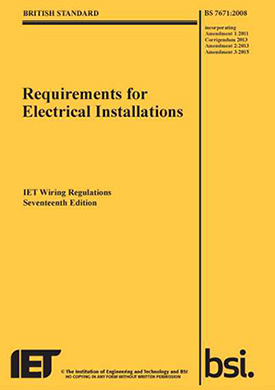 17th edition wiring regs course