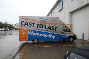 Hamworthy Van at Logic4training