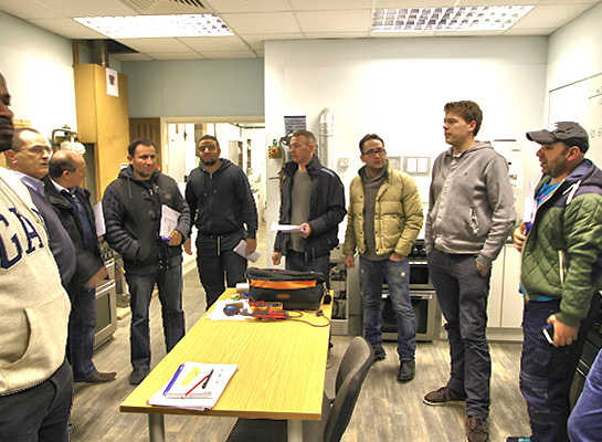 heating installers training