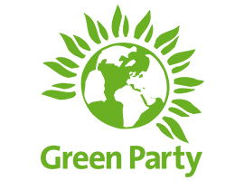 Green party logo 2015