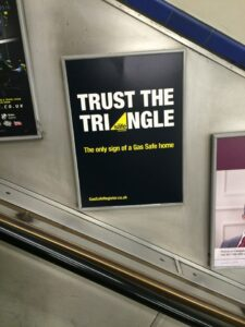 trust the triangle tube advert