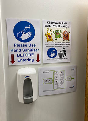 l4t handwashing facilities